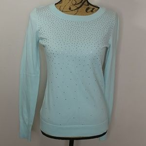 Express Sweater with Rhinestones